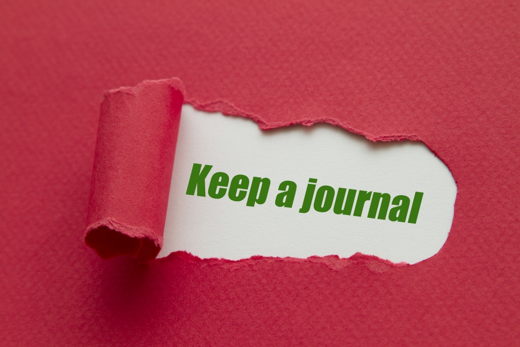 Journaling can help reduce anger, anxiety, and depression.