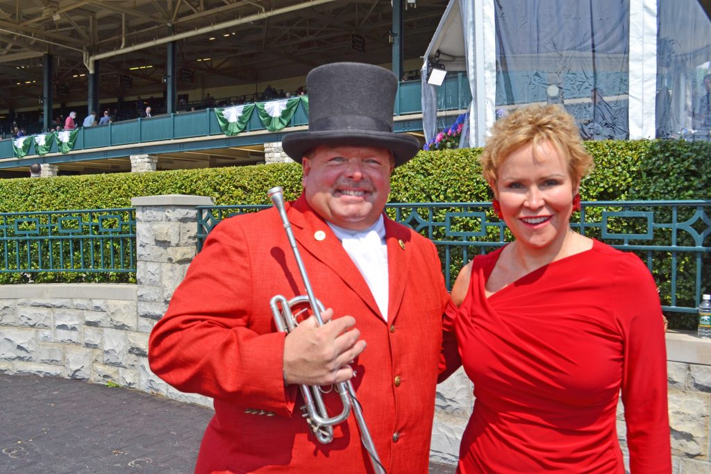 Jan Anderson at Keeneland